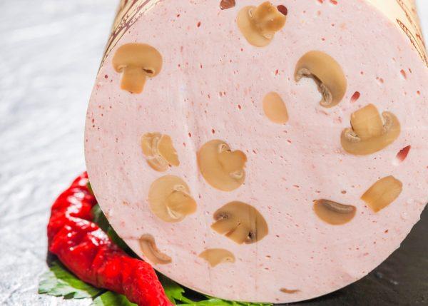 Champignonwurst