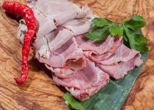 bayerischer Schweinebraten vom Bauch