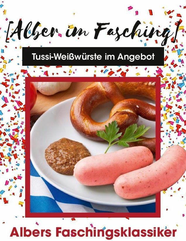 Tussy Weißwurst Das Original