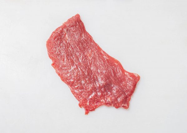 Rinderroulade geschnitten