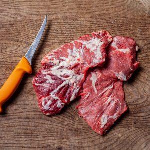 Spider Steak, Kachelfleisch