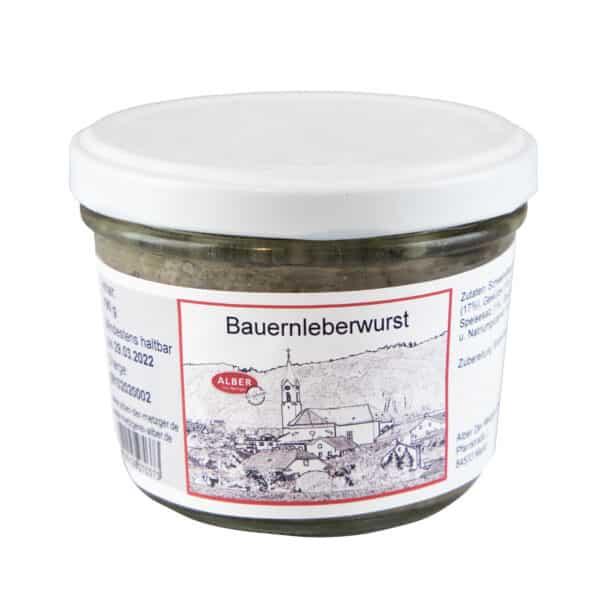 Bauernleberwurst 190ml
