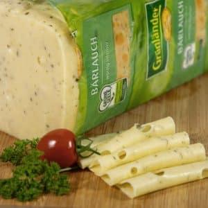 Grünländer Käse Bärlauch 48% Fett i. Tr.