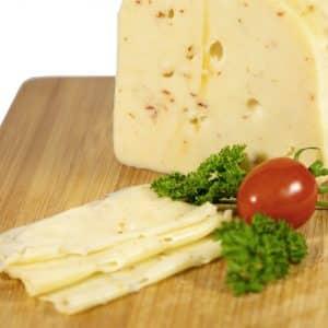 Grünländer Käse Chilli 48% Fett i. Tr.
